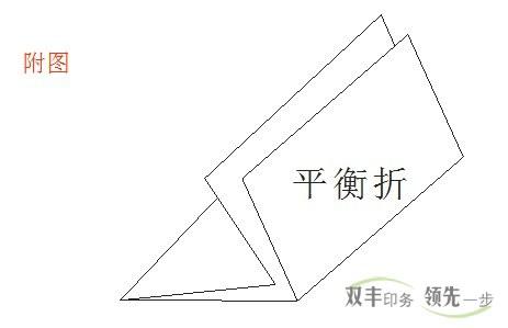 南阳印刷厂折页印刷平衡折示意图