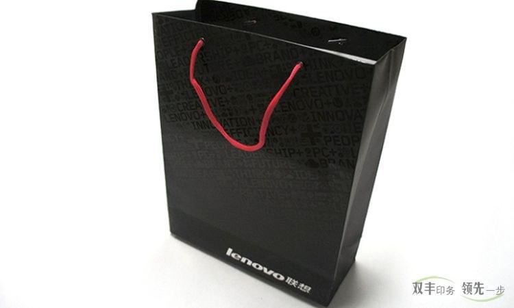 河南印刷厂铜版纸精品手提袋印刷覆膜局部UV