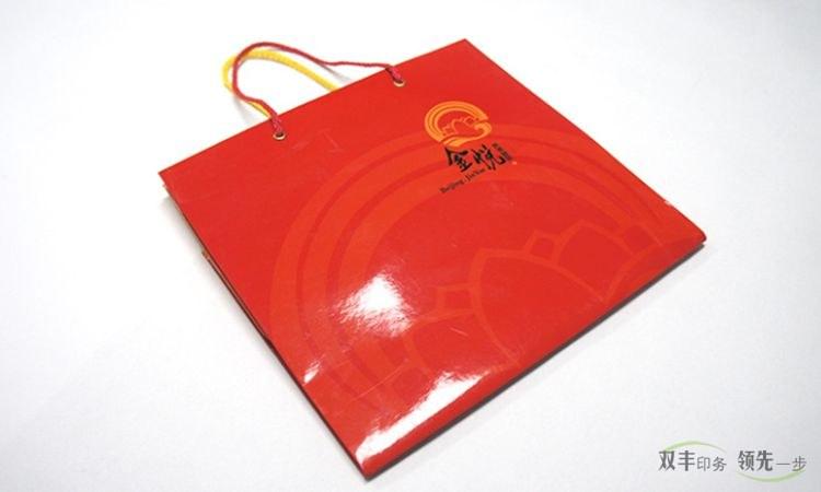 河南印刷厂白卡纸手提袋印刷