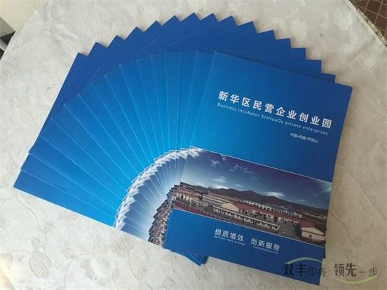 创业园宣传画册印刷