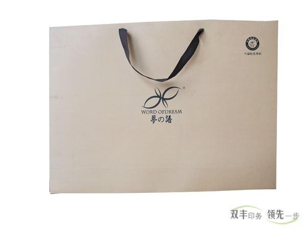 品牌服装手提袋印刷