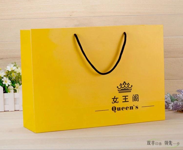 手提袋12博备用网站展示白卡纸服装手提袋